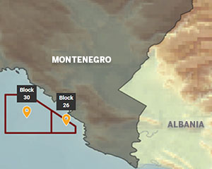 Energean: Montenegro blocks hold 438 MMboe