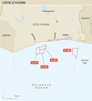 Total discovers oil off Ivory Coast
